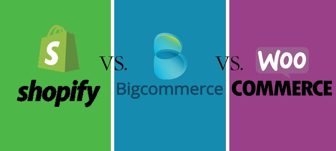 Bigcommerce vs Shopify vs Woocommerce Comparison